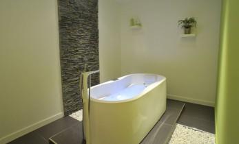 bain bouillonnant à jets